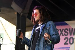 Kweku Collins // COS x Brooklyn Bowl Family Reunion, photo by Heather Kaplan