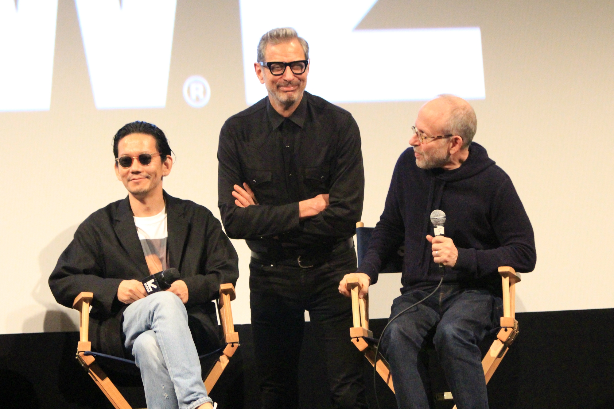 Cast and Crew of Isle of Dogs, photo by Heather Kaplan