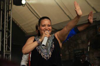 Salt-N-Pepa // Rachael Ray's Feedback at Stubb's BBQ, photo by Heather Kaplan