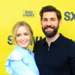 Emily Blunt and John Krasinski, A Quiet Place SXSW 2018 Premiere, photo by Heather Kaplan