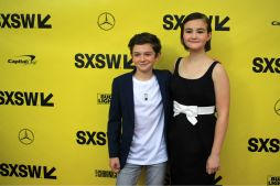 Noah Jupe and Millicent Simmonds // A Quiet Place, photo by Heather Kaplan