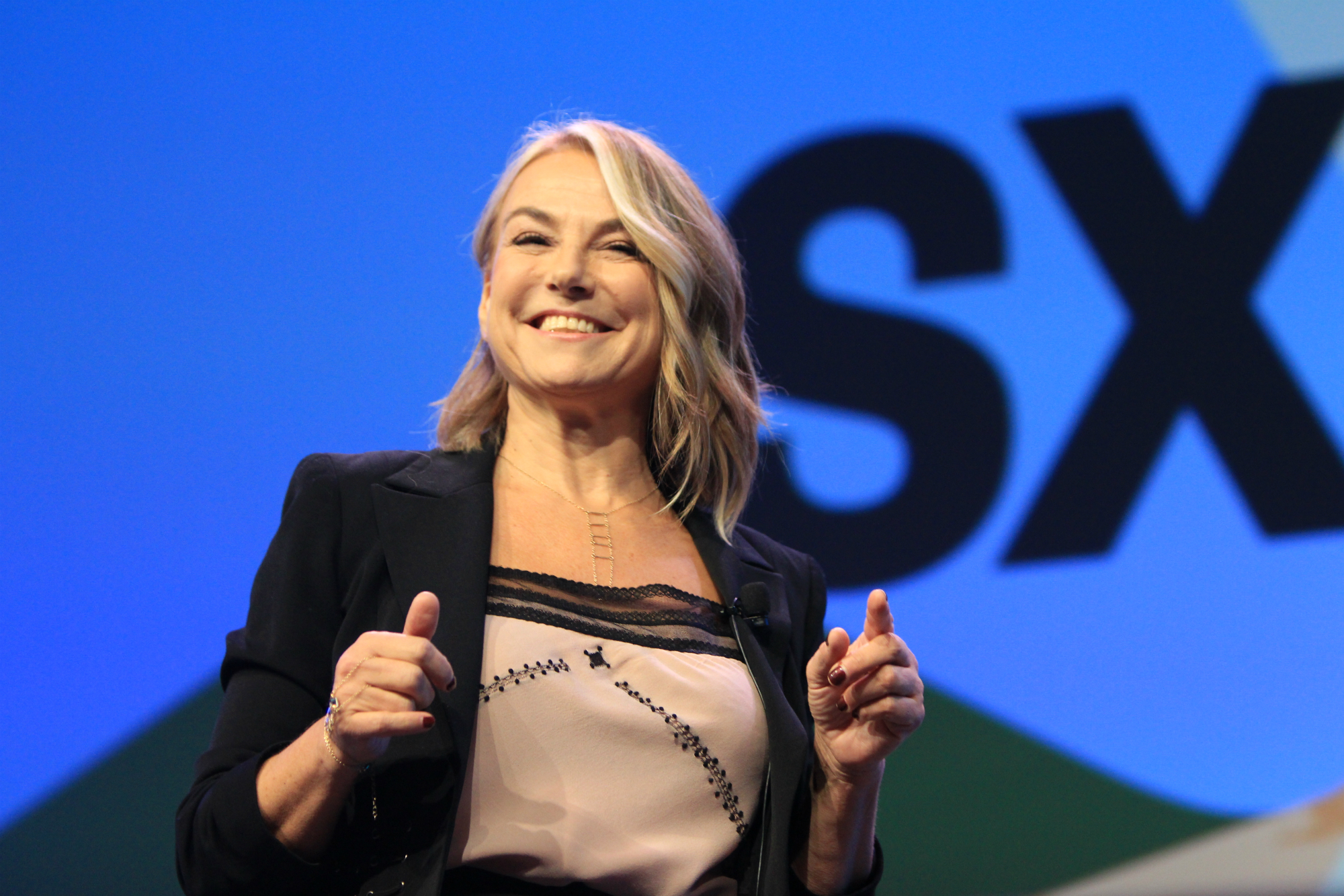 Esther Perel Keynote, photo by Heather Kaplan