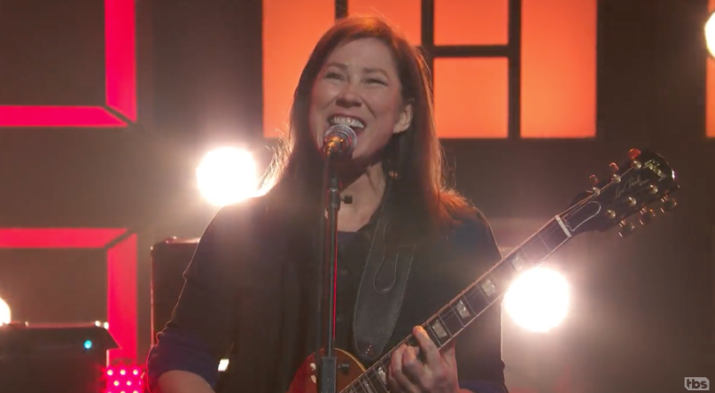 The Breeders perform on Conan
