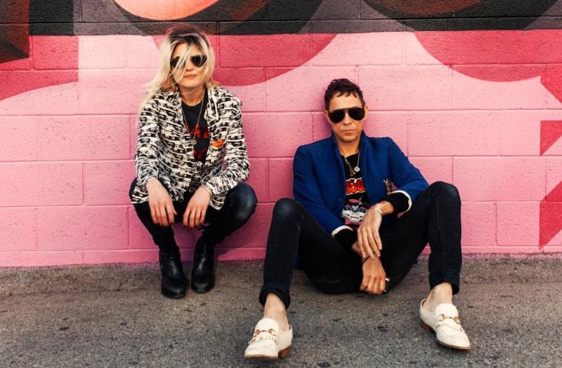 The Kills, photo by Clayton Cubitt