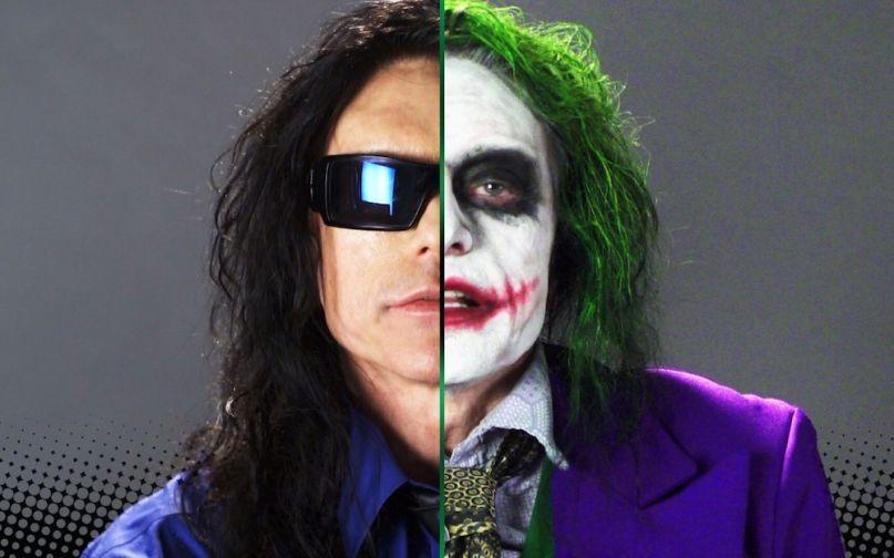 Tommy Wiseau as The Joker