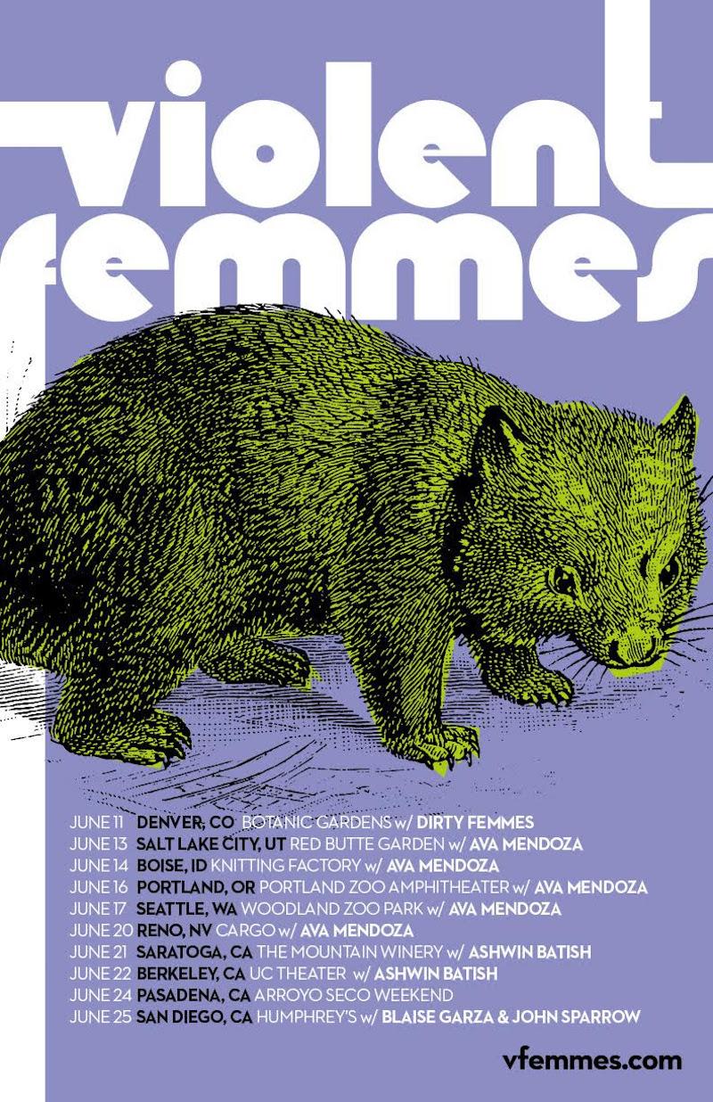 unnamed 37 Violent Femmes announce 2018 US summer tour dates