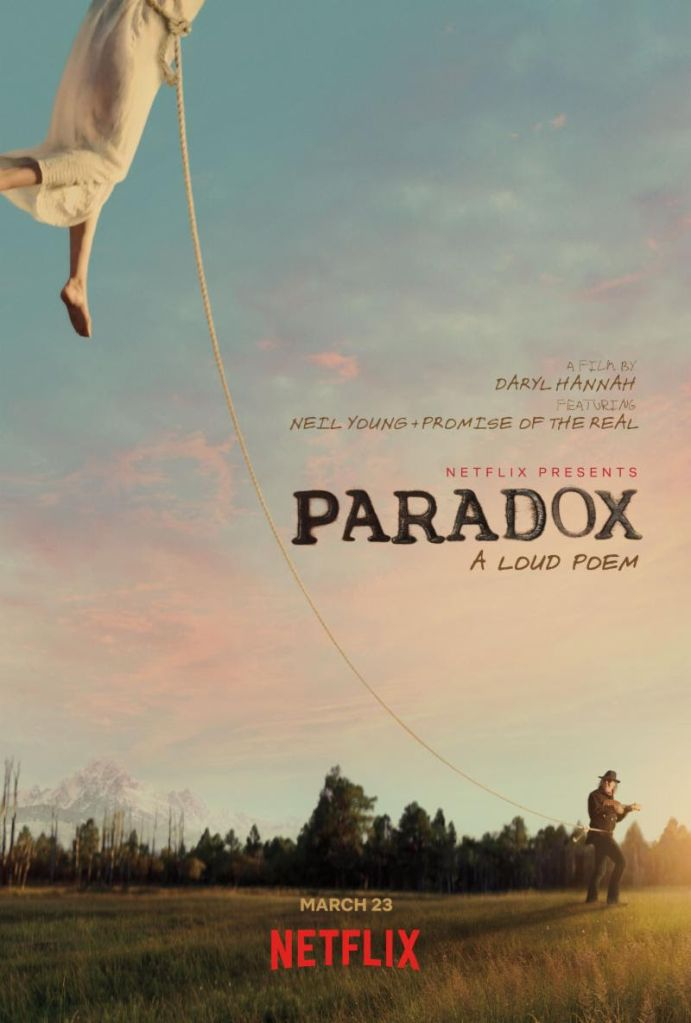 unnamed 94 Neil Young and Daryl Hannahs fantasy western Paradox to premiere on Netflix later this month