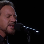 Eddie Vedder at the Oscars