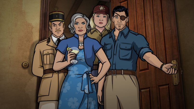 Archer Season 9: Danger Island
