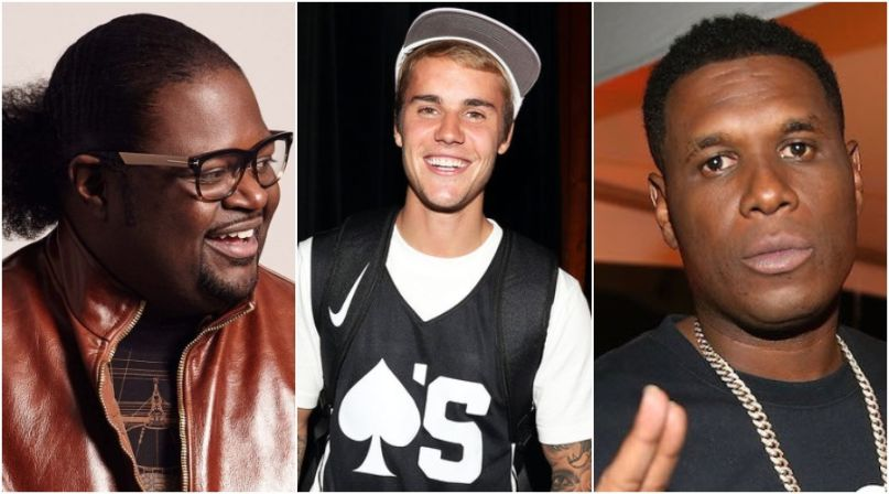Poo Bear, Justin Bieber, and Jay Electronica