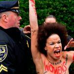Bill Cosby protestor Nicolle Rochelle