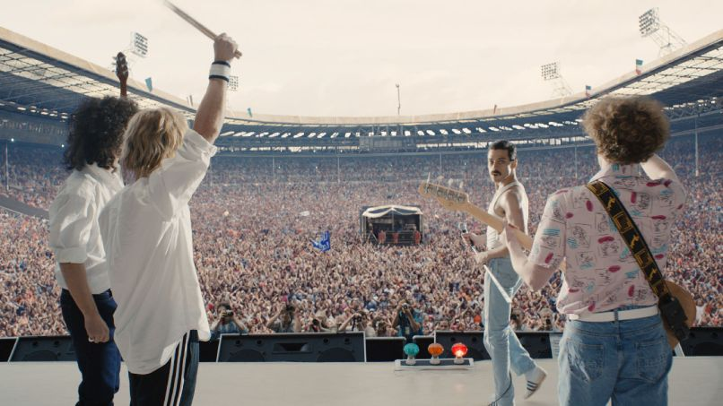 bohemian rhapsody   2   h 2018 New Bohemian Rhapsody photos depict Rami Malek as Freddie Mercury