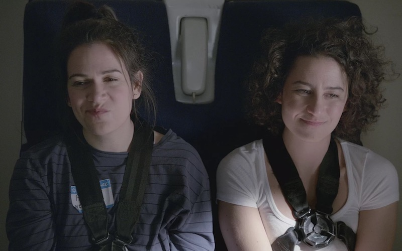 Abbi Jacobson and Ilana Glazer on Broad City