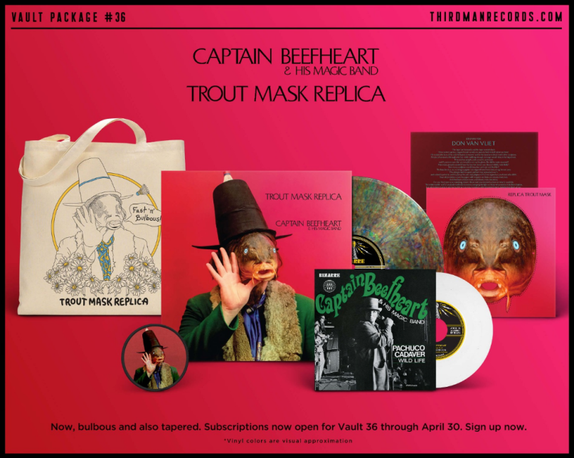 Captain Beefheart S Trout Mask Replica Gets Reissue From