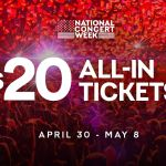 Live Nation's National Concert Week promotion