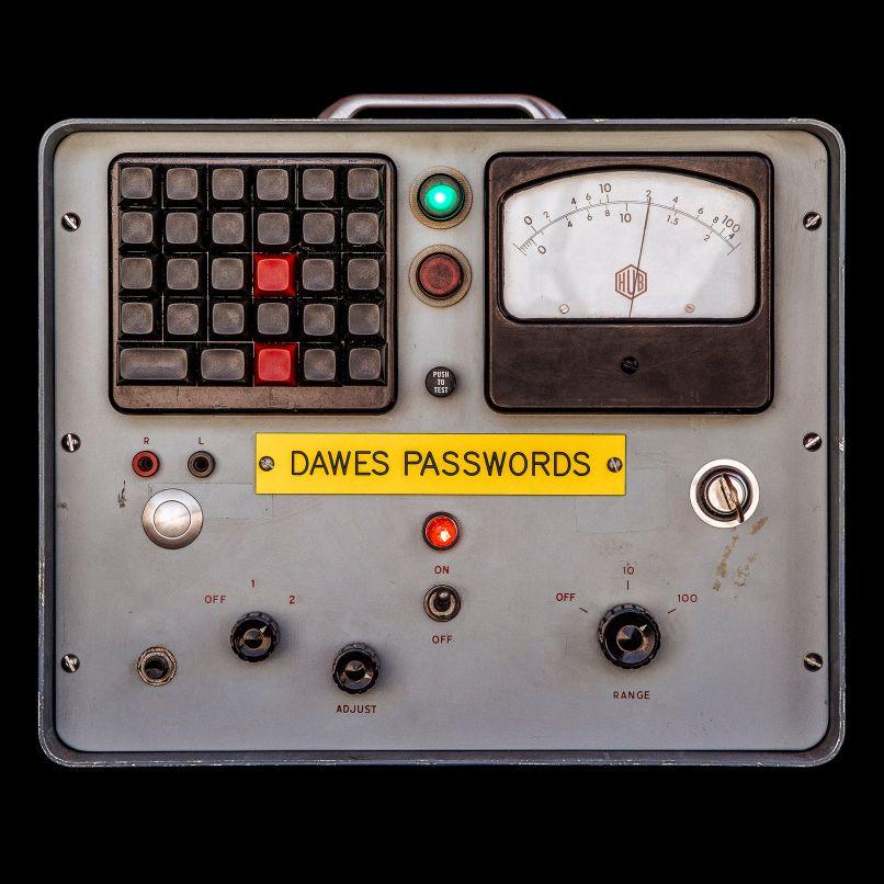 dawes passwords cover 2000x2000 Dawes announce new album, Passwords