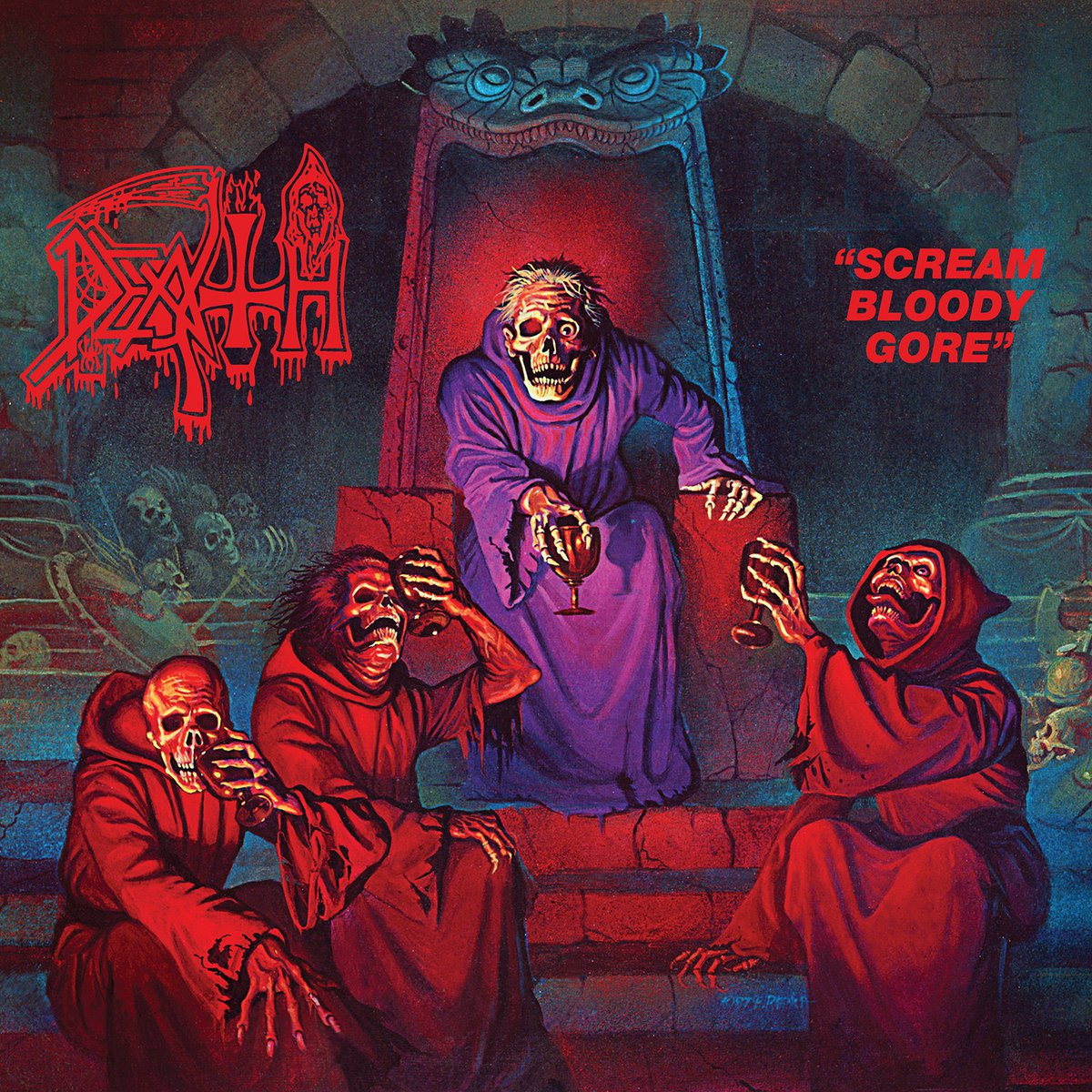 death scream bloody gore 2016 cover The 25 Greatest Debut Metal Albums of All Time