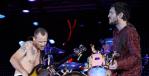 Flea and former Chili Peppers bandmate John Frusciante
