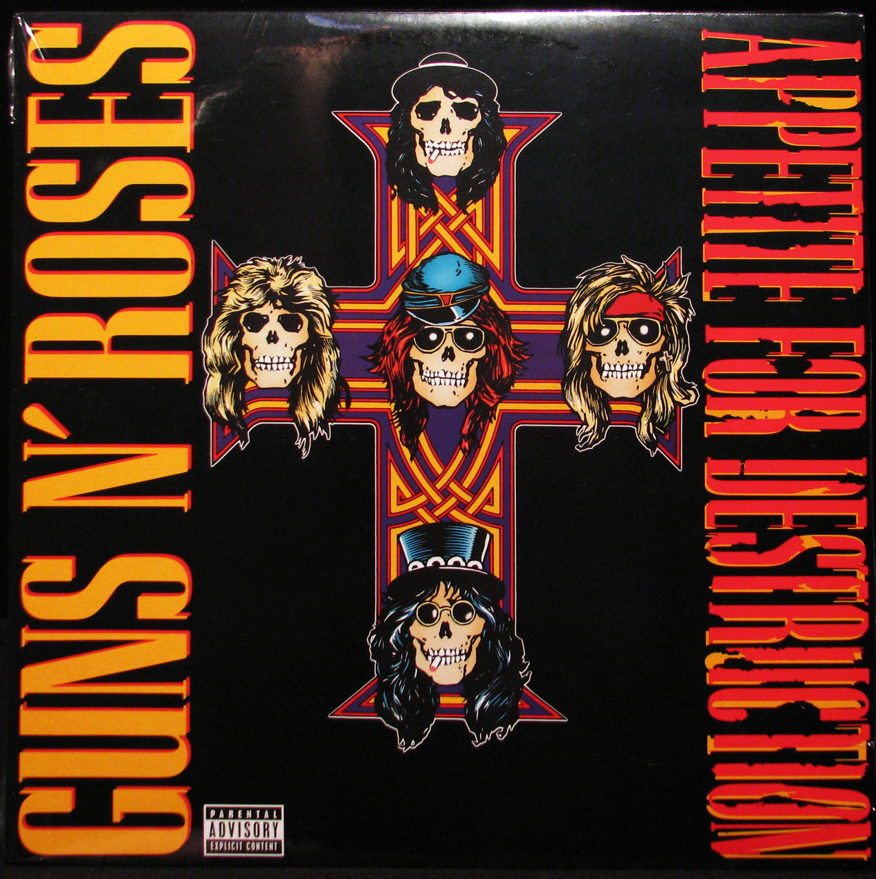 guns n roses apetitie for destruction vinyl record shop music zone cork ireland The 25 Greatest Debut Metal Albums of All Time