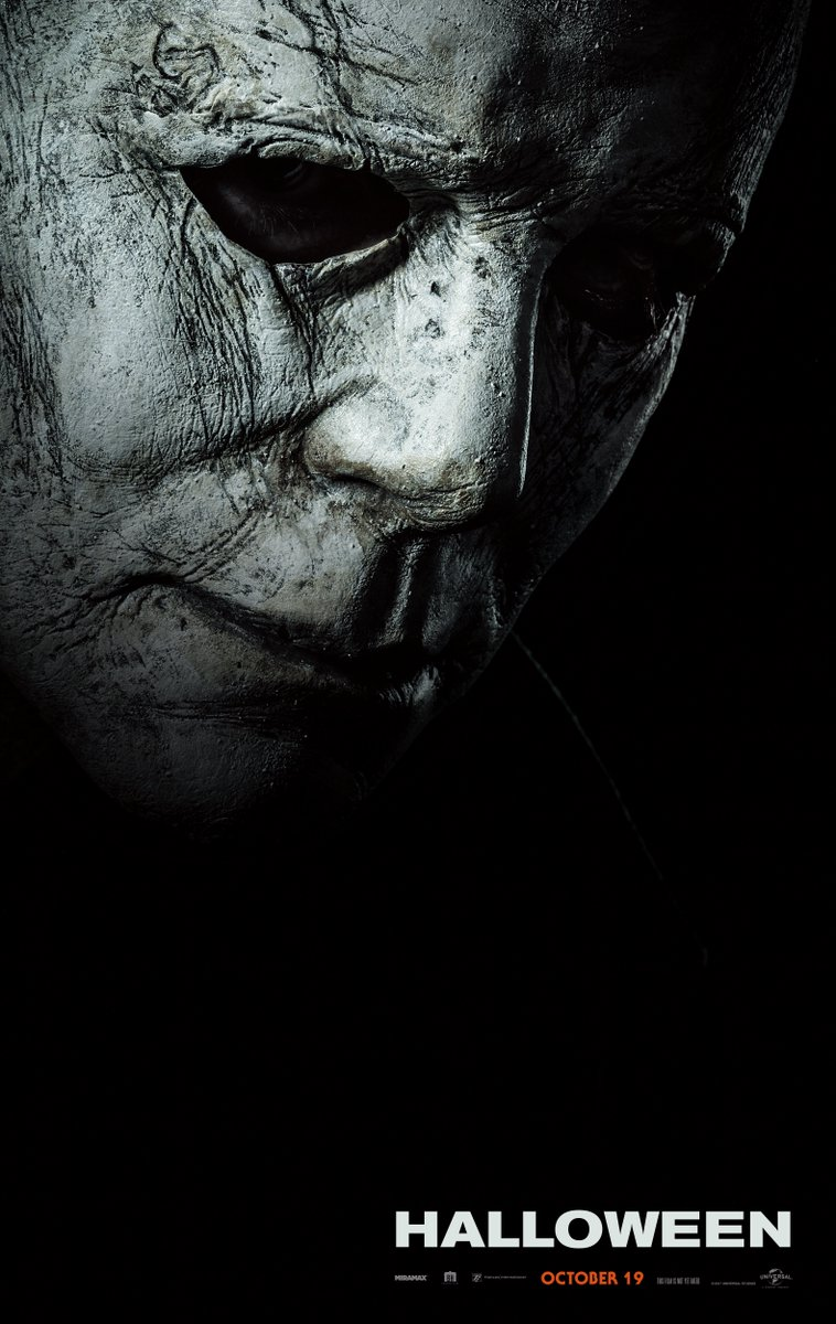 halloween2018poster Heres the first poster for David Gordon Green and Danny McBride's Halloween sequel