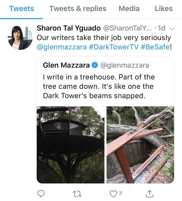 Dark Tower Deleted Tweet