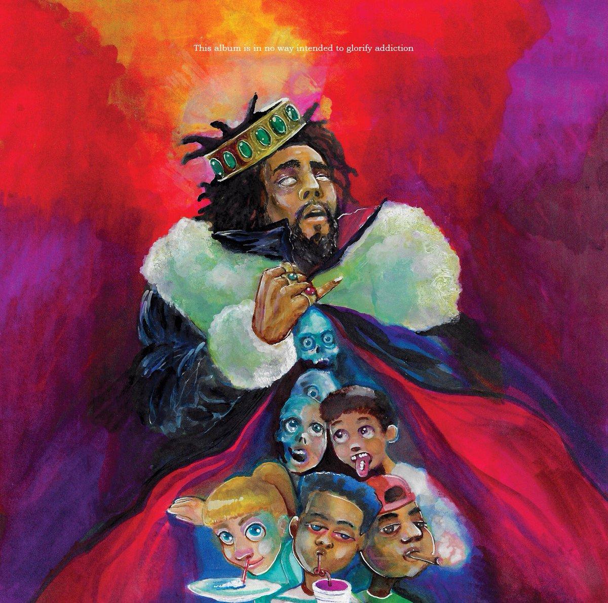 J  Cole releases new album KOD: Stream