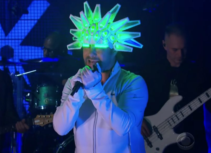 Jamiroquai on The Late Late Show With James Corden