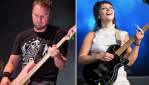 Jeff Ament and Angel Olsen, photos by David Brendan Hall and Philip Cosores
