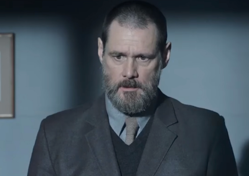 Jim Carrey obsesses over a grisly murder in trailer for Dark