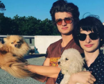 Joe Keery and Finn Wolfhard