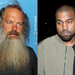 Kanye West and Rick Rubin