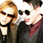 X Japan's Yoshiki and Marilyn Manson