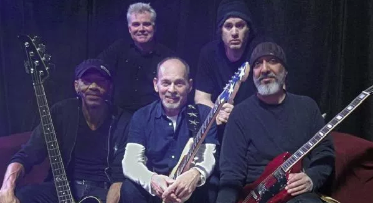 MC50 lineup featuring Wayne Kramer, Kim Thayil, Brendan Canty, Dug Pinnick, and Marcus Durant