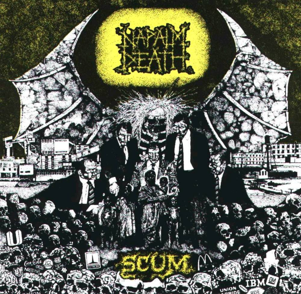 napalm death The 25 Greatest Debut Metal Albums of All Time