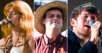 Florence and the Machine (Erica Tra), Mac DeMarco (Philip Cosores), James Blake (David Brendan Hall)