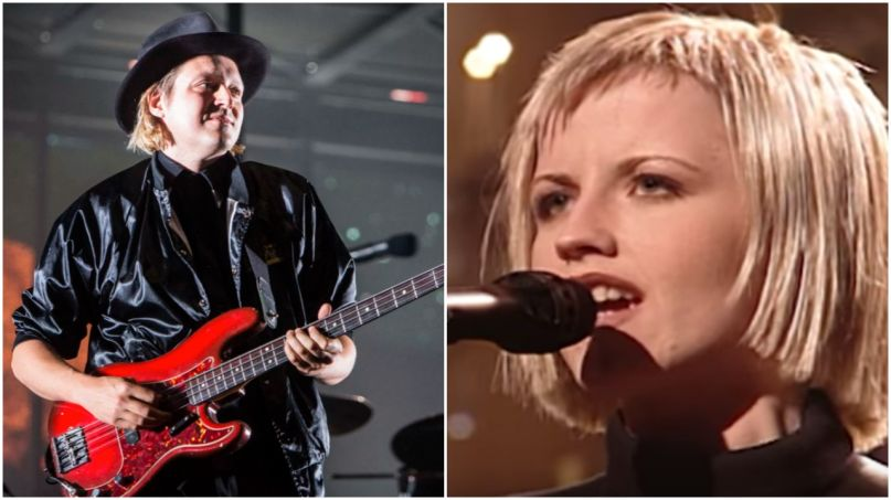 Arcade Fire (Philip Cosores) and Dolores O'Riordan