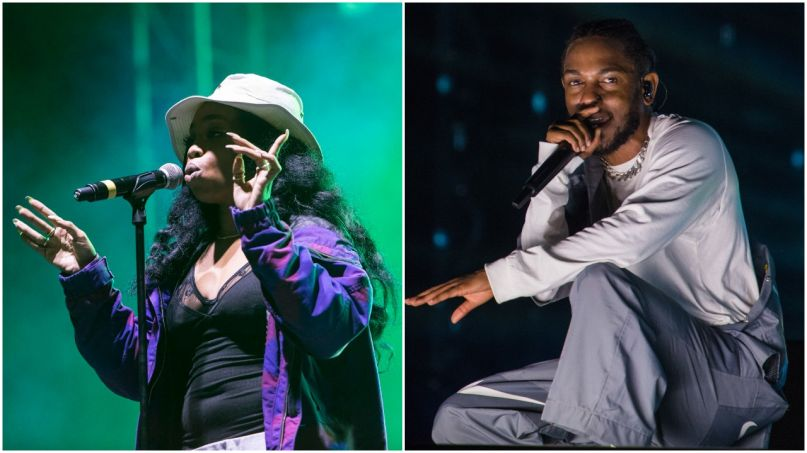 SZA brings out Kendrick Lamar for