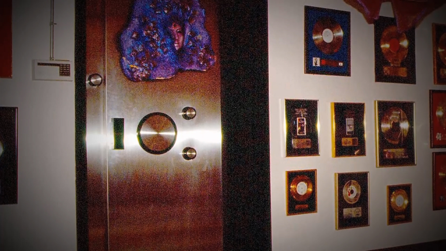 Outside of Prince's music vault