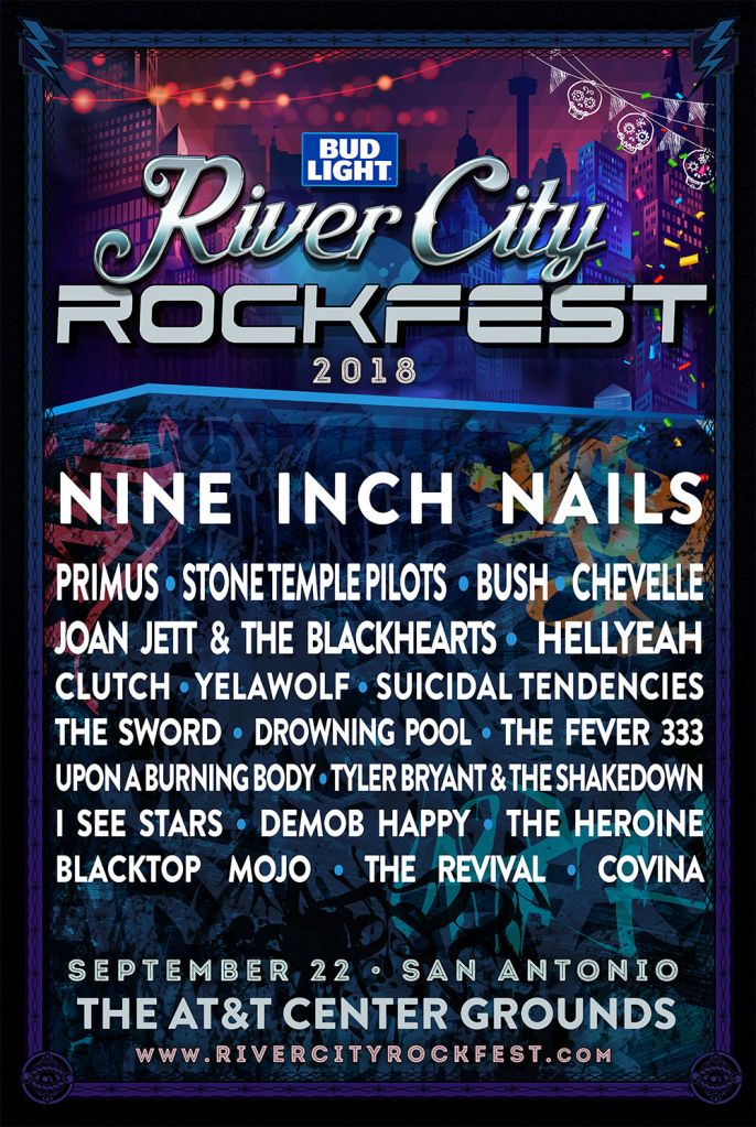 rockfest 20181 Nine Inch Nails to headline San Antonios River City Rockfest in 2018