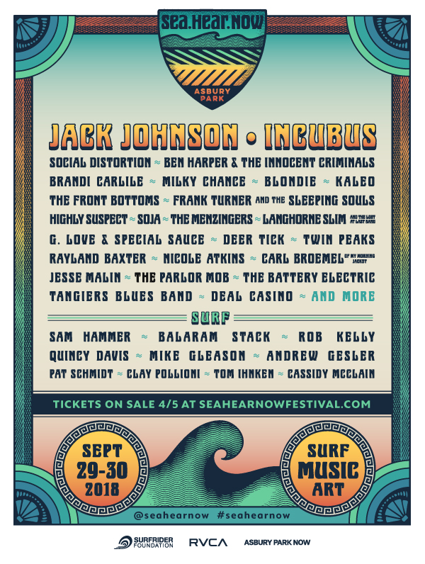 seahearnow Asbury Parks Sea.Hear.Now Festival reveals inaugural lineup