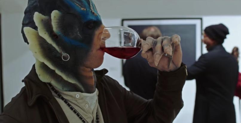 Kyle Mooney as Fish Man in SNL digital short