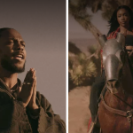 "Kendrick Lamar and SZA in ""Doves in the Wind"" video"