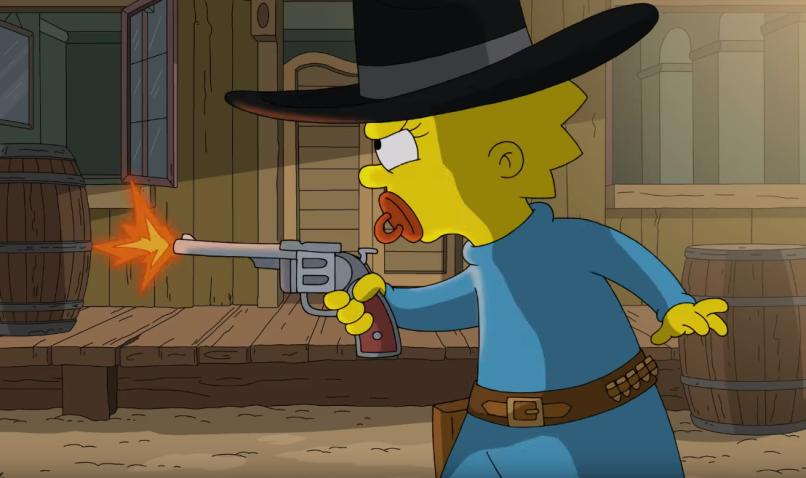 The Simpsons just surpassed Gunsmoke as longest-running