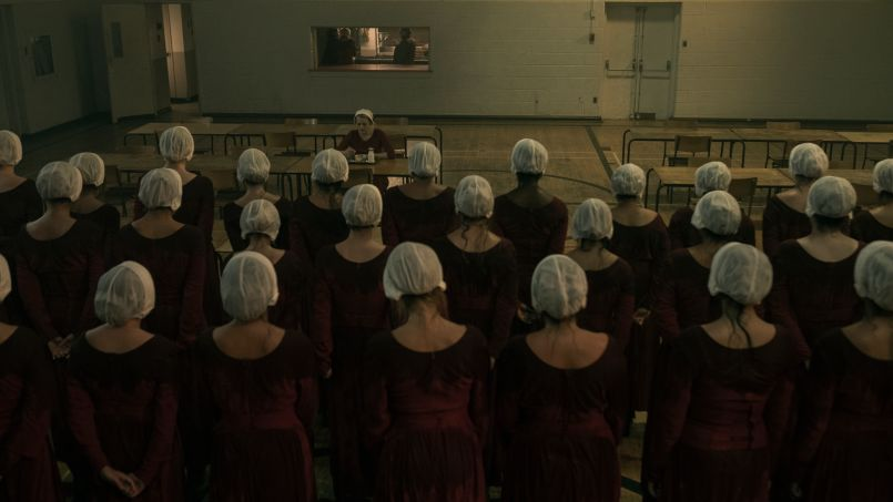 tht 201 gk 0410rt The Handmaid's Tale Finds New, Toxic Ground to Hoe for Season Two