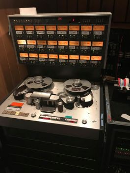 Inside Tool's recording studio
