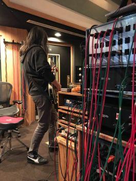 Adam Jones recording the new Tool album