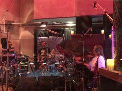 Danny Carey and Justin Chancellor recording Tool's new album