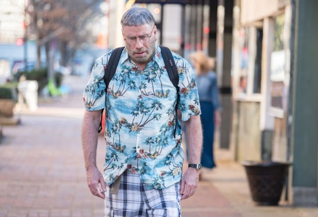 Well, here's John Travolta as a stalker in Fred Durst's new film