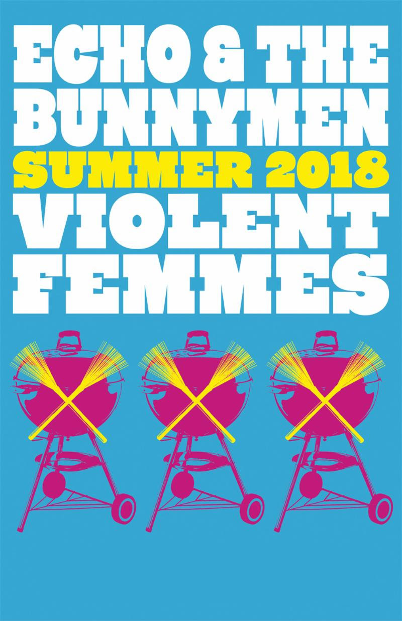 unnamed 48 Echo & the Bunnymen and Violent Femmes announce 2018 co headlining tour