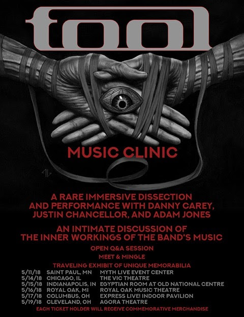 Tool Music Clinic Tour